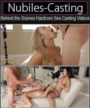 Porno w castingu